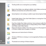 Easily Repair & Fix Windows 7 and Vista problems with FixWin Utility