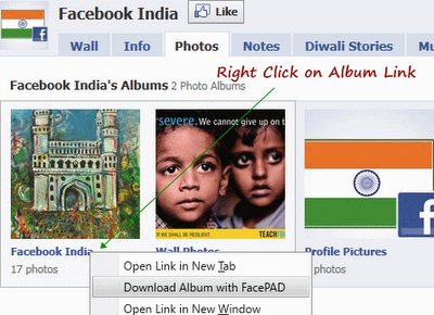 Download All Photos Images Inside Facebook Albums Easily in Firefox Download All Photos, Images Inside Facebook Albums Easily in Firefox