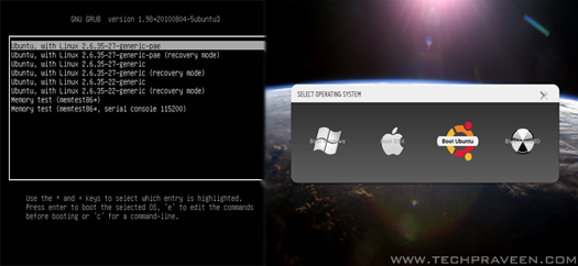 Customize Your GRUB2 Boot Loader On Ubuntu How To Customize Your GRUB2 Boot Loader On Ubuntu