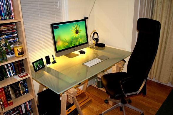 office computer setup. office computer setup c
