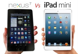 Google's Nexus 7 Versus iPad Mini By Apple