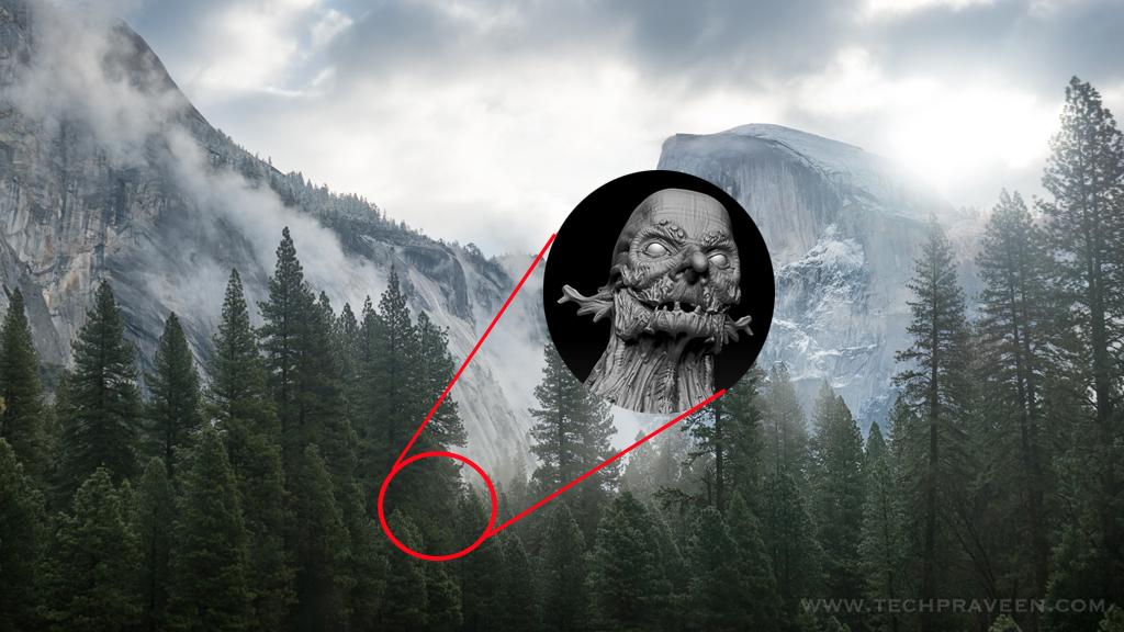Mountain Tree Spirits - Mac Yosemite Easter Egg