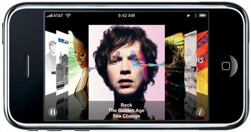 iPhone Coverflow
